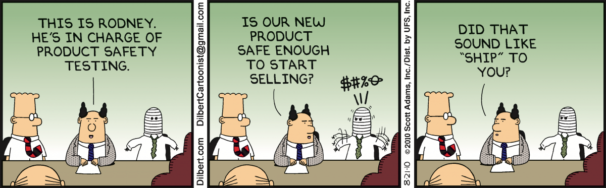 Dilbert on McKinsey