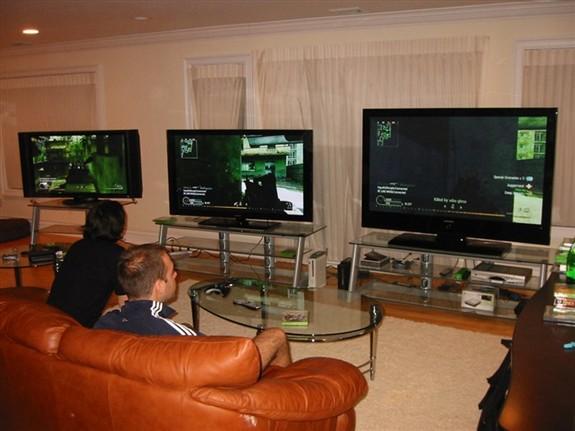 Great game setup / best plasma TV on the market