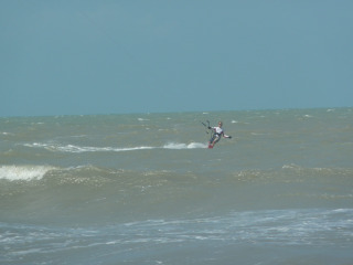 Prea is THE place to kite surf!