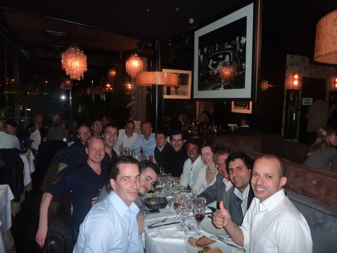 French Entrepreneur Dinner