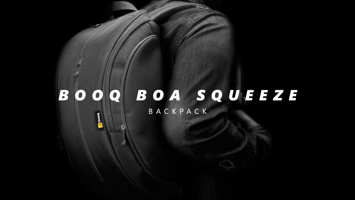 The Booq Boa Squeeze is the best notebook backpack in the market!