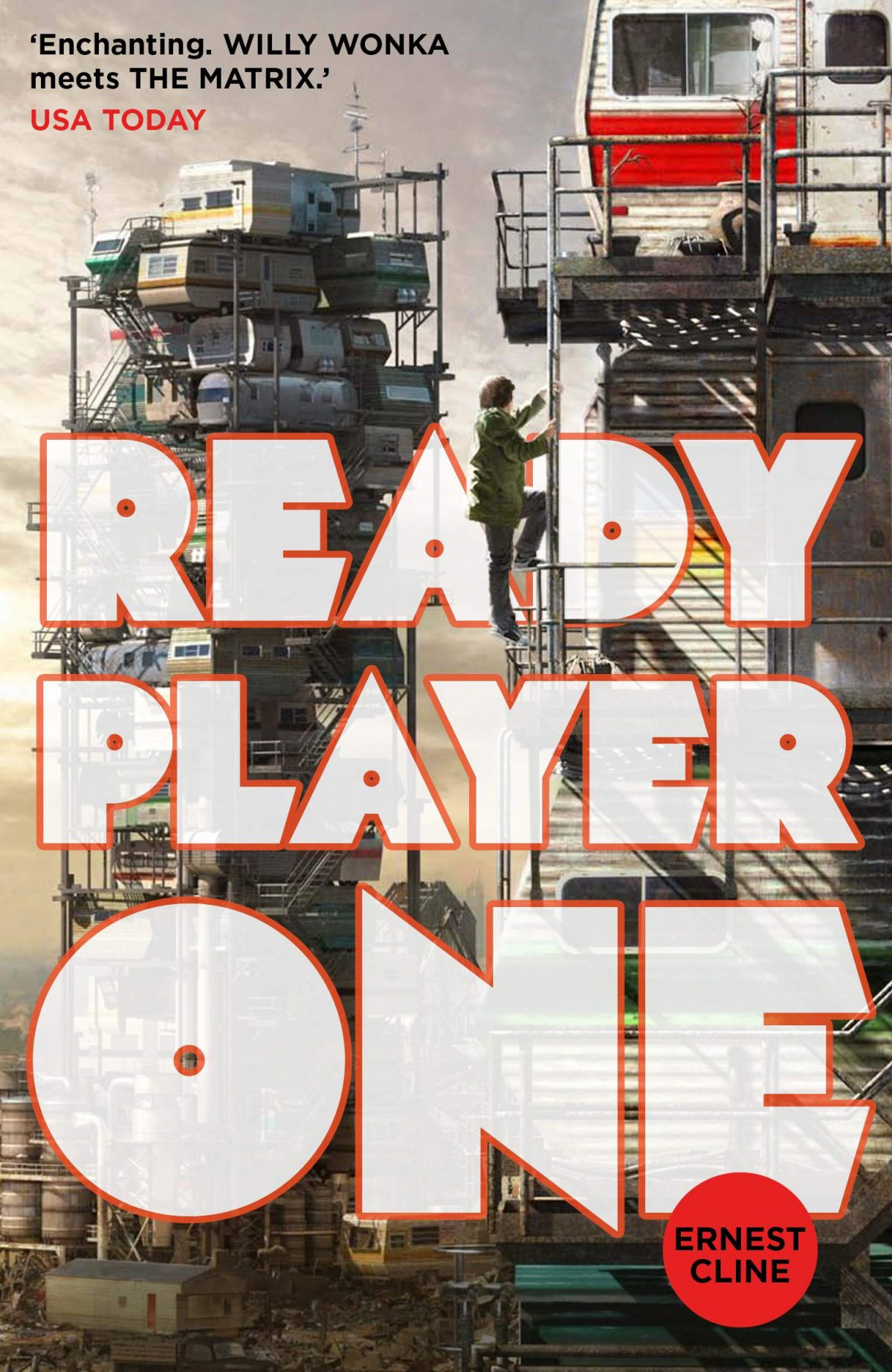 Ready Player One is a must read for gamers and fans of the 80s!