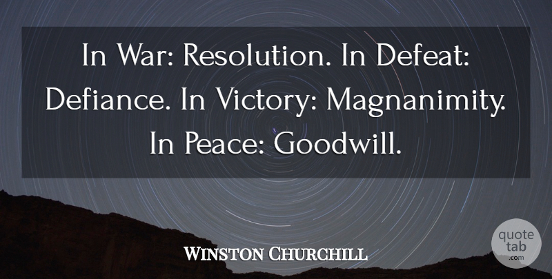Nice Churchill Quote