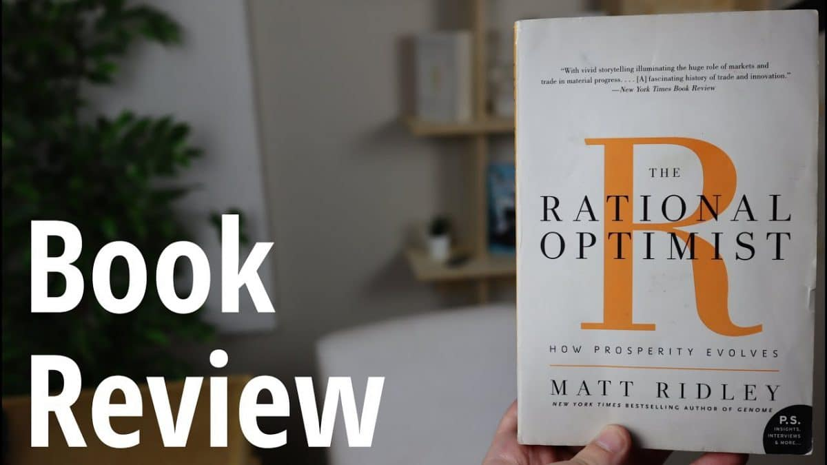 Notes on the future of humanity based on Matt Ridley's book The Rational Optimist