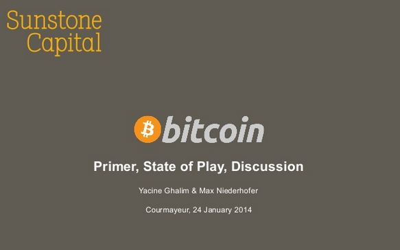 Great presentations on Bitcoin