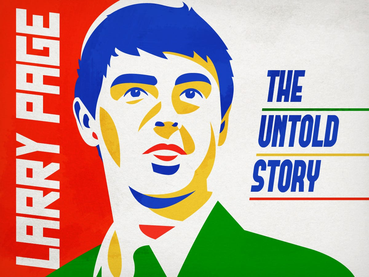 Larry Page's story is fascinating