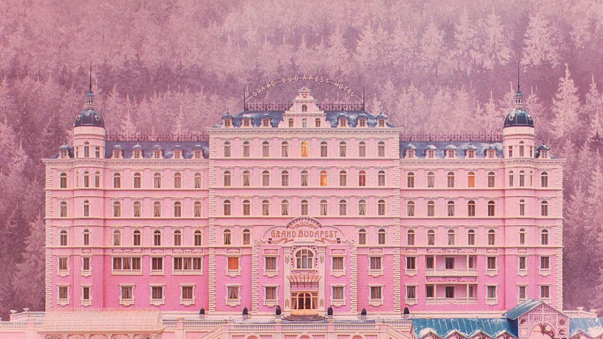 The Grand Budapest Hotel is fantastic!