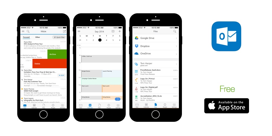 Outlook for iOS is the best iPhone email application on the market