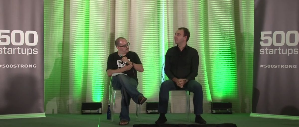 Fun Discussion with Dave McClure at PreMONEY Miami
