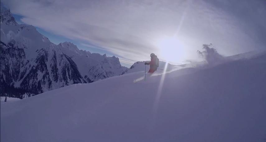 I love skiing!