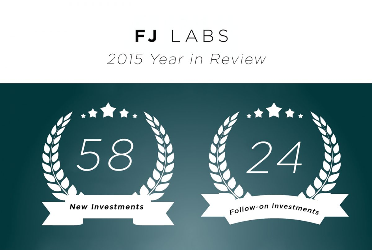 FJ LABS 2015 Investment Year in Review