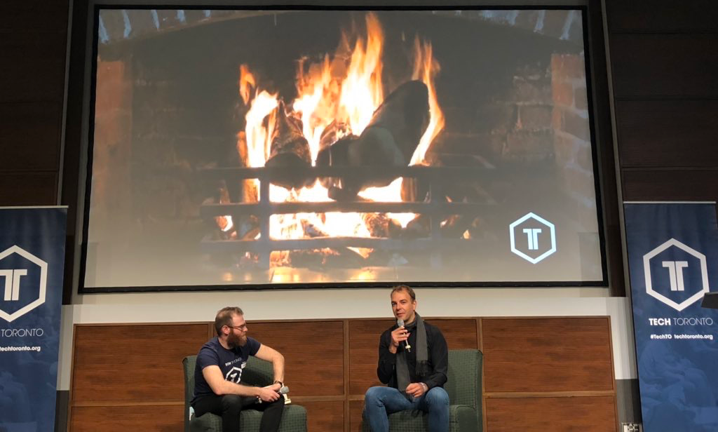 Fireside Chat about building marketplaces with Jason Goldlist at TechToronto